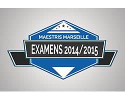 Examens 2014/2015 à Marseille : premiers résultats