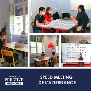 Speed Meetings au Campus Eductive Grenoble