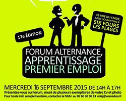 Maestris Toulon au 16e forum de l'alternance