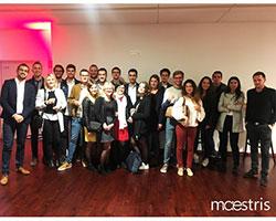 Campus Maestris Lille, nos étudiants en loge VIP à Bollaert